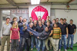 Gruppenfoto der Akaflieg